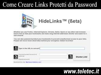 Come Abbreviare e Proteggere i Links con Password