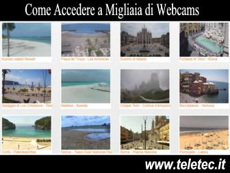 Come Accedere a Migliaia di Webcams - SkyLineWebCams