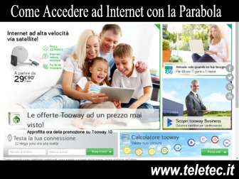 Come Accedere ad Internet con l'Antenna Satellitare