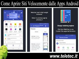 Come Accedere Velocemente a Internet dalle Apps Android - Lynket Browser