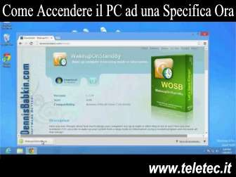 Come Accendere e Spegnere il PC ad una Specifica Ora