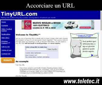 Come accorciare un url