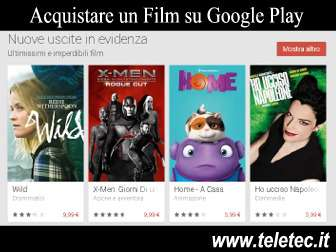 Come Acquistare un Film su Google Play