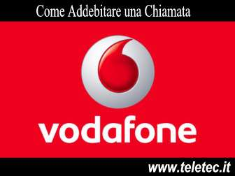 Come Addebitare le Telefonate con Vodafone