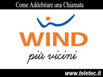 Come Addebitare le Telefonate con Wind