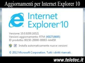 Come Aggiornare Internet Explorer 10 su Windows 7