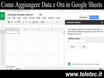 Come Aggiungere Data e Ora in Automatico in Google Sheets