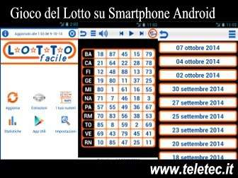 Come Analizzare i Numeri del Lotto con Android