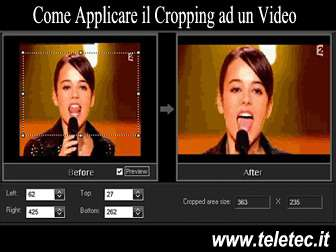 Come Applicare il Cropping ad un Video - Video Crop