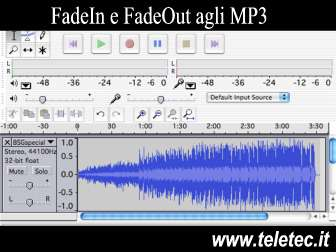 Come Applicare il Fade In e il Fade Out ad una Traccia Audio