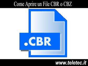 Come Aprire un File CBR o CBZ su PC