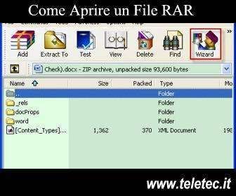 Come Aprire un File RAR