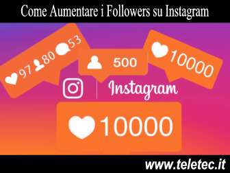 Come Aumentare i Followers su Instagram