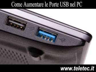 Come Aumentare le Porte USB nel PC