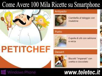 Come Avere 100 Mila Ricette su Windows Phone