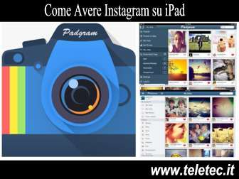 Come avere instagram su ipad