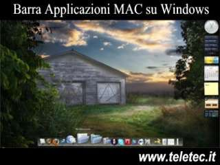 Come Avere la Barra Applicazioni del Mac su Windows