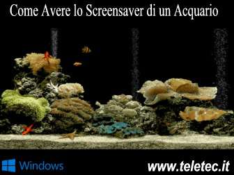 Come Avere lo Screensaver di un Acquario su Windows - Free Aquarium Screensaver