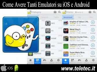 Come Avere Tante Console ed Emulatori su iOS, Android e Windows