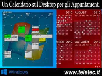 Calendario Windows 10 Su Desktop.Come Avere Un Calendario Sul Desktop Di Windows Per Gestire