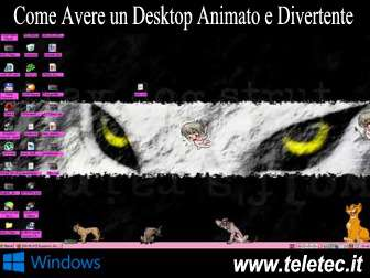 Come Avere un Desktop su Windows Animato e Divertente