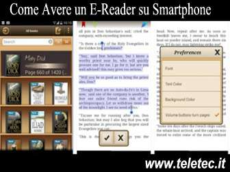 Come Avere un Ebook Reader su Smartphone