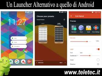 Come Avere un Launcher Alternativo a quello standard di Android