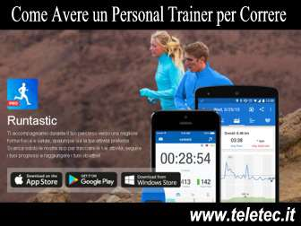 Come Avere un Personal Trainer Virtuale per Fare Sport - Runtastic