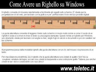 Come Avere un Righello su Windows - Ruler for Windows