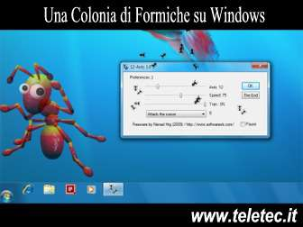 Come Avere una Colonia di Formiche su Windows