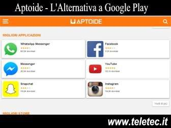 Come Avere un'Alternativa a Google Play