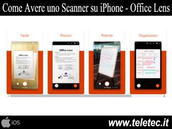 Come Avere uno Scanner su iOS - Office Lens