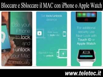Come Bloccare e Sbloccare il MAC in Automatico con iPhone o Apple Watch