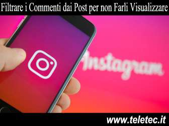 Come Bloccare i Commenti dai Post di Instagram e Renderli Invisibili