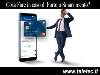 Come Bloccare la TIM Pay in Caso di Furto o Smarrimento