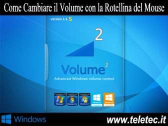 Come Cambiare il Volume con la Rotellina del Mouse o con la Tastiera su Windows - Volume2