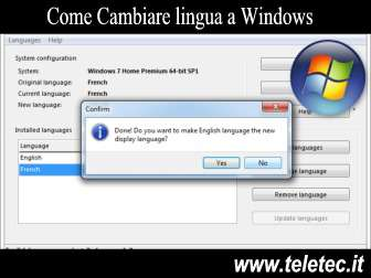 Come Cambiare la lingua di Windows se hai acquistato il PC all'estero