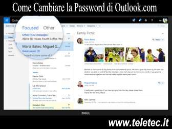 Come Cambiare la Password di Outlook.com