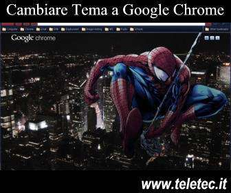 Come Cambiare Tema a Google Chrome