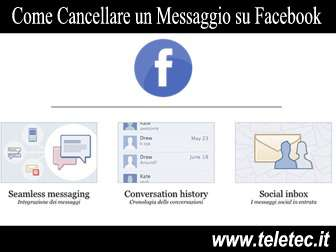 Come Cancellare un Messaggio su Facebook