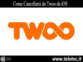 Come Cancellarsi da Twoo con iOS