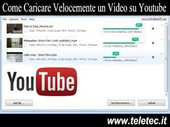 Come Caricare Velocemente un Video su Youtube