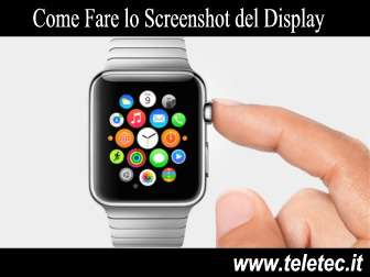 Come Catturare lo Schermo del Display sull'Apple Watch