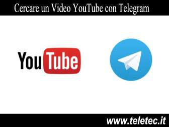 Come Cercare un Video YouTube con Telegram