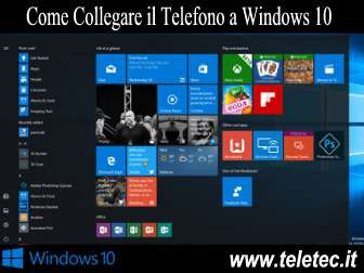 Come Collegare e Gestire lo Smartphone con Windows 10 - Continue on PC