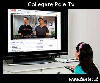 Come Collegare il Pc con la Tv
