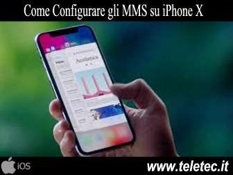 Come Configurare gli MMS su iPhone X