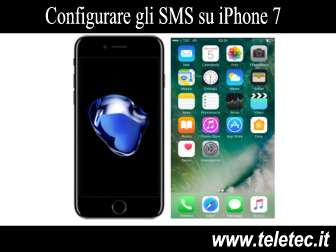 Come Configurare gli SMS su iPhone 7