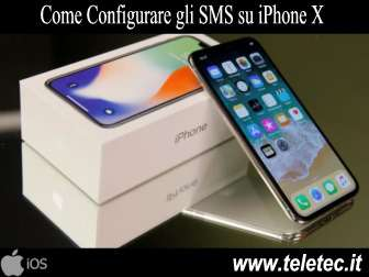 Come Configurare gli SMS su iPhone X