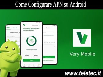 Come Configurare Internet su Dispositivi Android per Navigare con Very Mobile